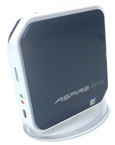 The Acer AspireRevo has the distinction of being the first NVIDIA Ion system available from vendors. It's not vaporware anymore.