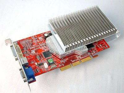 Not exactly a fast performer, but this card still got our attention thanks to its radical cooling solution. The Silent-Snake amongst graphics cards then?