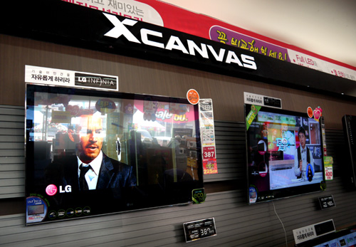 LG's INFINIA series is marketed under the XCanvas moniker here in Korea. The INFINIA range is expected to offer various refresh rates at 480Hz and 240Hz.