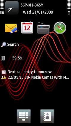 Preview: Symbian S60 V5 0 on the Nokia 5800 XpressMusic