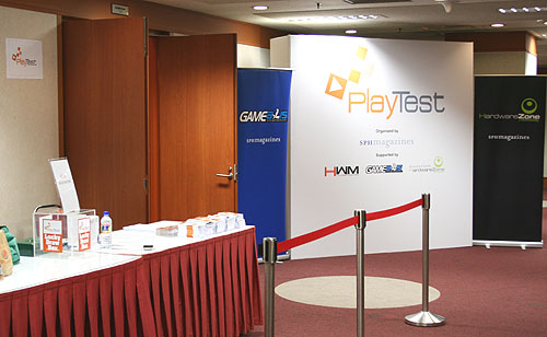 The stage is set, the doors are open, as we await the start of this edition of PlayTest.