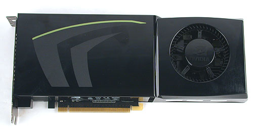 This is NVIDIA's latest flagship, the GTX280. It is frighteningly fast and carries an equally frighteningly price tag.