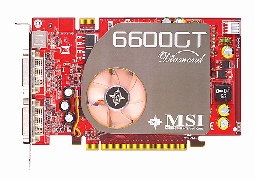 Awarded our Most Innovative Product award, this card from MSI was one of the best 6600 GT money could buy.
