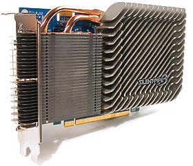 The Gigabyte GV-NX86S256H.