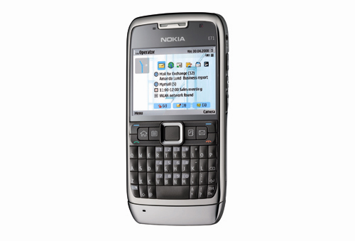 The Nokia E71, equipped with a 3.2-megapixel camera with autofocus, utilizes the latest Symbian S60 3rd Edition Feature Pack 2, and supports microSD expandability of up to 8GB and comes with an internal memory of 110MB. The standard connectivity options such as Wi-Fi, Bluetooth 2.0 with A2DP support are seen here, and not to mention the E71 is also HSDPA-enabled for the mobile internet.