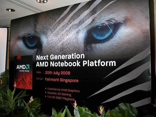 The Puma platform notebook launch - yet another milestone for AMD. They'll need this and more to muster up enough strength to get out of the red books in the second-half of this year.