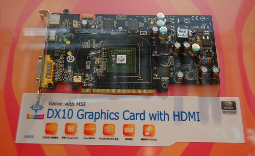 Note the single chip package indicating that the NVIO functions have been integrated in this new GPU.