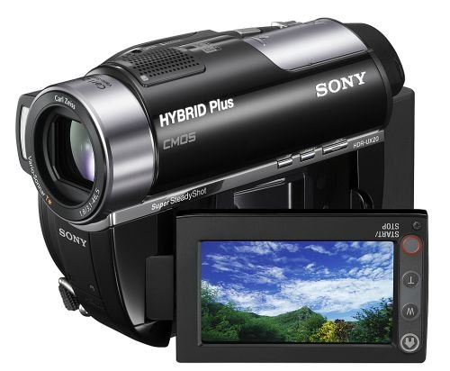 Another interesting Sony HD Handycam is the HDR-UX20. It is a Hybrid Plus model in that it not only lets you record video to a DVD disc or Memory Stick DUO, but also to its internal 8GB memory. It also comes with Face Detection and lets you shoot photos at 4 megapixels. Expected US release in March 2008 at US$1000.