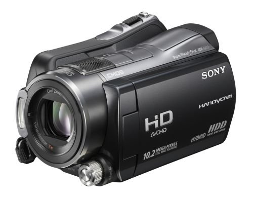 The Sony HDR-SR12 has the highest built-in hard drive capacity of 120GB among the Full HD consumer camcorders announced at the show. It supports Face Detection for both still and video and while it takes still shots at 10.2 megapixels, it lets you take simultaneous dual recording (movie and 7.6-megapixel photos). US release expected in March 2008 at US$1400.