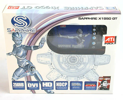 The Sapphire Radeon X1950 GT has all the features of the Radeon X1950 PRO but with slower clocks and at a lower price.