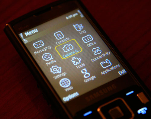 Symbian phone users will find the interface plenty familiar.