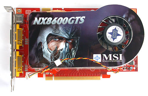 MSI goes for its own cooler, which reminded us a little of HIS' IceQ series of coolers.