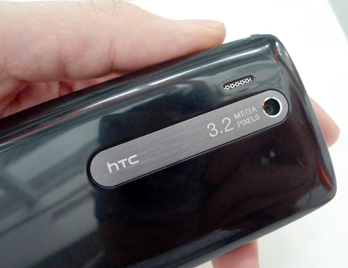 The Touch 3G also comes with a 3.2-megapixel camera, but as you can see, lacks an LED flash and an auto-focus feature.