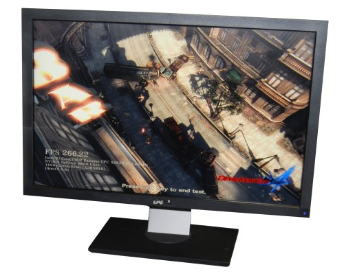 Lastly, a quick look at the pretty 27-inch monitor that was gorgeous to behold. We did notice that it got pretty hot when we used it, but it's still a pretty good monitor (if you can afford it).