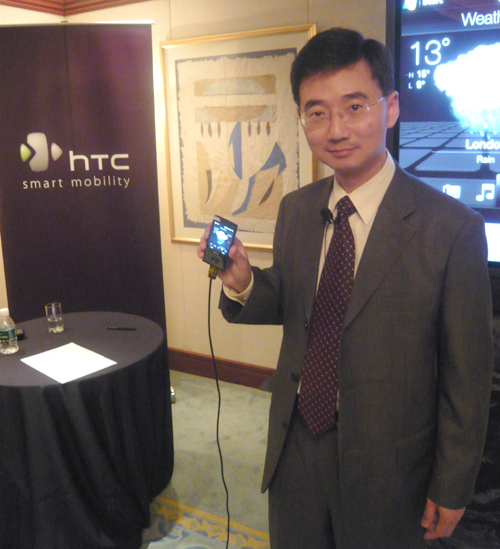 During the media session, John Wang, Chief Marketing Officer, HTC, gave us a brief outlook of how HTC will be upping the ante with the introduction of its TouchFlo 3D on top of its various other interface improvements.