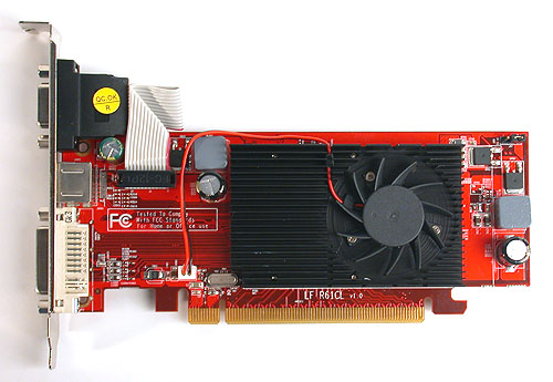 This PowerColor Radeon HD 2400 XT is a low profile graphics card that makes it suitable for smaller chassis. We can imagine it being used in a HTPC setup for one, especially with its UVD.
