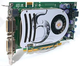 The Sparkle GeForce 8600 GTS 256MB.