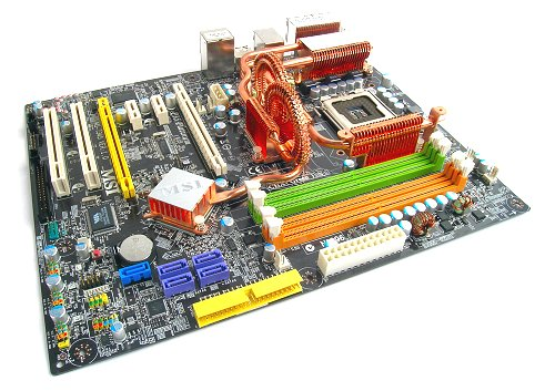 The MSI P35 Platinum proves to be a very well built and well rounded motherboard.