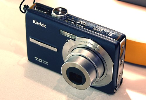 KODAK also has a new range of slim and light digicams in their M series, banking mostly on its colorful designs. These are entry-level cameras with a wide-angle viewing LCD viewfinder and come in 7 to 10-megapixels.
