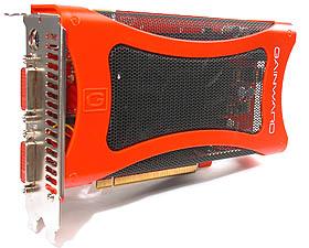 The Gainward Bliss 8600GTS PCX Golden Sample.