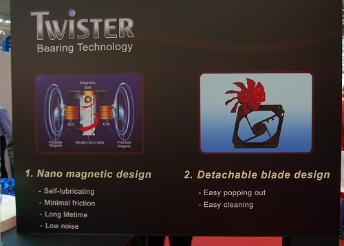 Here's more info of the Twister bearing technology and its benefits.
