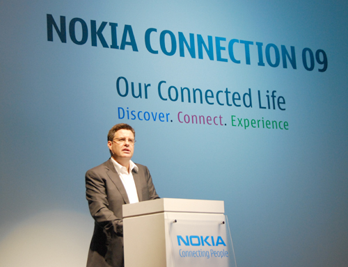 Chris Carr, Vice President, Sales, South East Asia Pacific, was on site to officially announce the launch of the Nokia E72, the Nokia 5530 XpressMusic and the Nokia 3710 Fold.