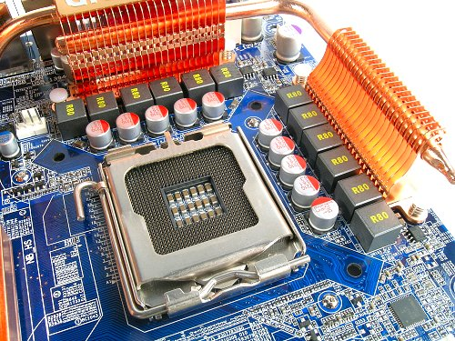 Same 'old' LGA 775, same 'old' 12-phase PWM, now enhanced with Ultra Durable 2 features.