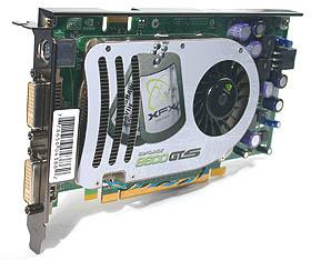 The XFX GeForce 8600 GTS 256MB XXX Edition.