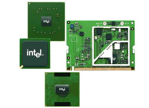 Components that make up the Intel Centrino platform.
