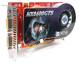The MSI NX8600GTS-T2D256E-HD-OC.