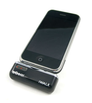 iphone portable charger looks egear iwalk portable ipod amp iphone battery 12147
