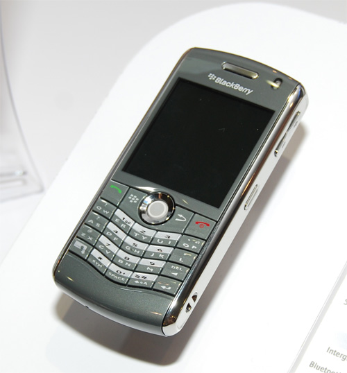 The Blackberry 8120 comes with four hours talk time, 64MB flash memory and Suretype QWERTY keyboard.