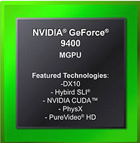 NVIDIA GeForce 9400 mGPU