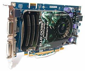 The ECS N8600GTS-256MX.