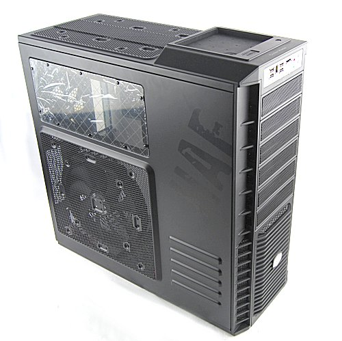 Looking somewhat military and boxy is the Cooler Master HAF 932. HAF stands for High Air Flow, of course.