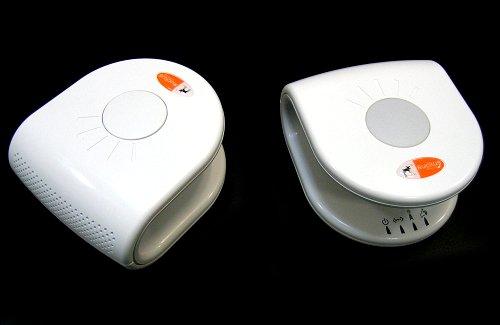 Ruckus MediaFlex range of MIMO G products. Shown here, the MediaFlex NG router and MediaFlex Adapter.