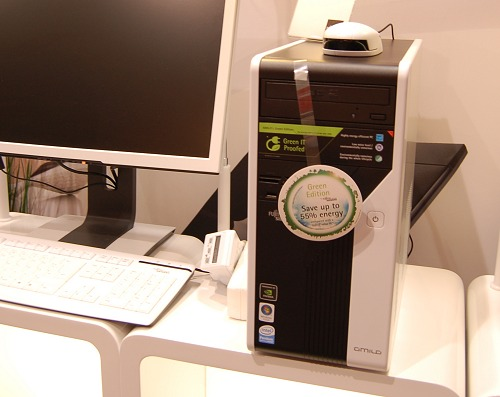 Recently, Fujitsu Siemens launched their new Amilo Desktop LA 3415 Green Edition that is much more energy efficient and environmentally friendly than previously.