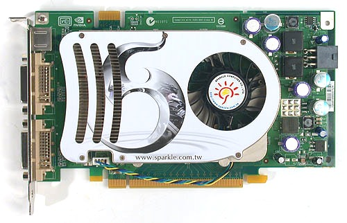 Sparkle is the next vendor to join the overclocking club with its GeForce 8600 GTS.