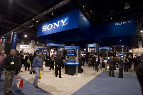 Sony proved to be one of the many pleasant surprises this PMA.