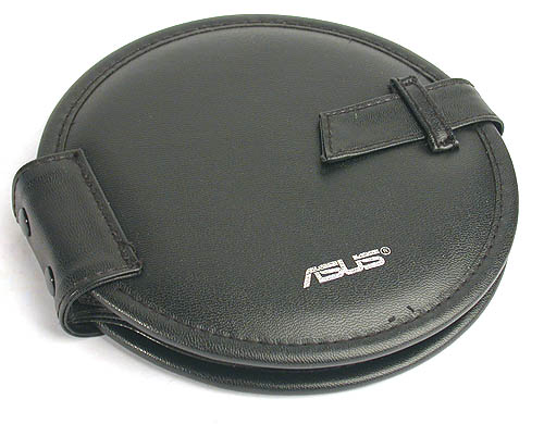 What's with ASUS and leather CD wallet freebies?