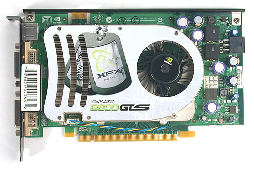 XFX's GeForce 8600 GTS XXX Edition is predictably overclocked.