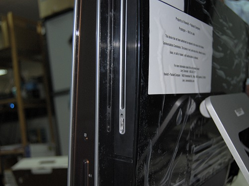 Keeping things slim and dandy means the unit uses a slot loaded DVD drive.