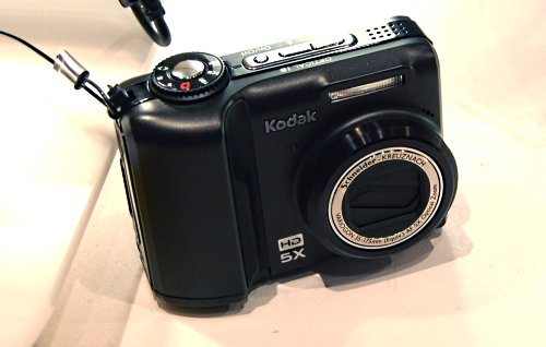 One of the new cameras introduced, the KODAK EASYSHARE Z1085 IS Zoom Digital Camera is their latest prosumer range digicam with 10-megapixel sensor, 5x optical zoom, optical image stabilization, and HD video capture.