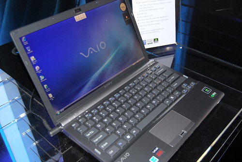 The business class Sony VAIO Z models are due to be released in September and features Intel Centrino 2 technology with an Intel Core 2 Duo P9500 (2.53GHz) processor, 4GB DDR3 RAM, a 13.1-inch screen, a NVIDIA GeForce 9300M GS graphics card and a 320GB hard disk. Weighing at only 1.48kg, this VAIO VGN-Z17 definitely packs a punch in both power and in our wallets. (Note: the pricing's for the Sony VAIO Z not revealed yet, but we don't expect it to be cheap).