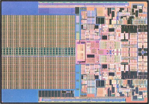 A 45nm Penryn (or Wolfdale for the desktop) die. Put two of these together and you have a quad-core Yorkfield