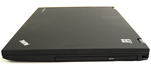 The right profile hides the super slim DVD burner.