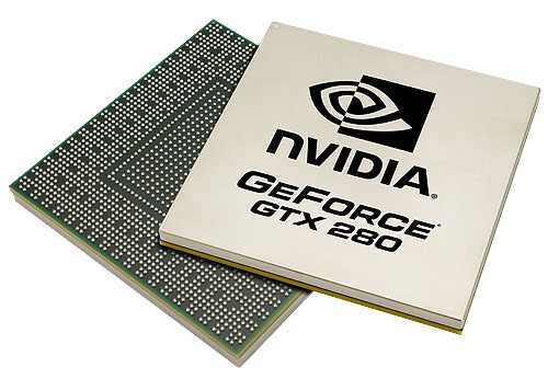Is that a CPU or a GPU? Breaking the 1 billion mark comfortably at 1.4 billion transistors, the GTX 200 GPU is NVIDIA's largest yet.