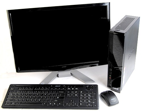 The Acer Aspire X3600 comes with a wireless keyboard/mouse combo, a 22-inch LCD monitor, and a HD capable platform for all your entertainment needs.