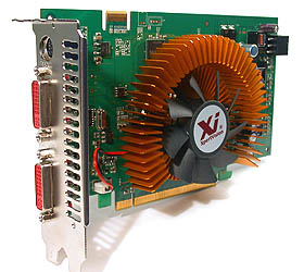 The XpertVision GeForce 8600 GTS 256MB.