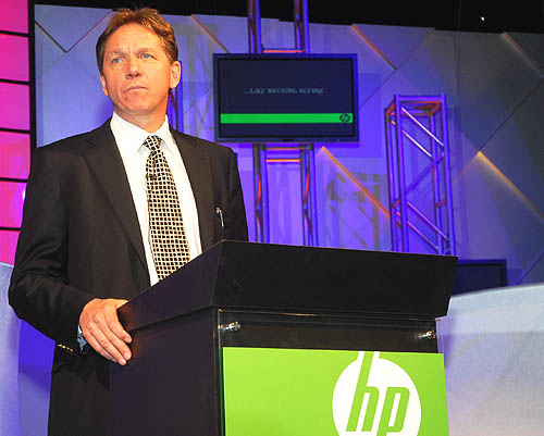 Mr Adrian Koch, senior vice president of HP's Personal Systems Group, Asia Pacific & Japan gave the keynote address to introduce HP's new lifestyle computing solutions.